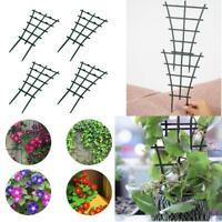 2/4Pcs Plastic Climbing Plant Support Flower Stem Ring Trellis Cage Rack Garden