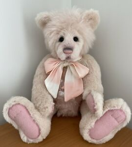 Charlie Bear Isabelle Collection Bear Joan As New With Tags And Bag. Cost $550