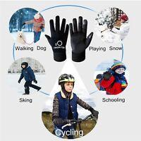 Kids Boys Girls Winter Gloves Warm Full Finger Mittens Children Gloves Fast Ship