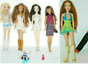 My Scene Doll  LOT Madison Nolee Kennedy Chelsea Clothes + More