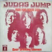 "JUDAS JUMP⚠️7""Vinyl-1970- Run for your Life/ Beer trinking. Odeon 1C00691160-D"