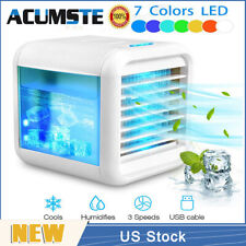Us Portable Mini Air Conditioner Cooler Cooling Ac Fan Humidifier Artic Office