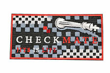 Jiu Jitsu BJJ Gi Patch CHECKMATE Chess Jiu Jitsu Gift IRON-ON Stocking Stuffer