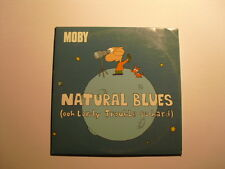 Moby – Natural Blues (Ooh Lordy Trouble So Hard) Cd Single Enhanced electronic