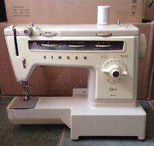 SINGER STYLIST MODEL 534 SEWING MACHINE, CASE, FOOT PEDAL, NO FREE ARM