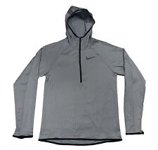Nike DRY Training Hoodie Dri-Fit Gym Gumsmoke Hoody 886746 Medium