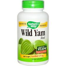 Nature's Way Wild Yam 180 Veg Capsules | PMS Menstrual Cramps Menopause