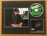 Dr Dre  **HAND SIGNED**  16x12 mounted display ~ AUTOGRAPHED   **EXACT PROOF**