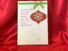 Hallmark Christmas Card/Love