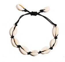 Natural Shell Bracelet Cowrie Shell Adjustable Anklet Ankle Chain Beach Jewelry