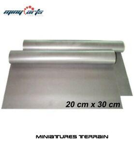 Ferrofolie 20 cm x 30 cm selbstklebend - z.B. für Magnetbases Metallfolie|Neu