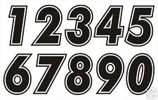 RACE NUMBERS - Choose any 10 No's-16 colours available