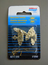 National Minature Decorative Catches N211946 V1840 Polished Brass