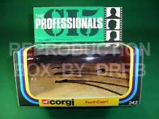 Corgi #342 The Professionals Ford Capri - Reproduction Box by DRRB