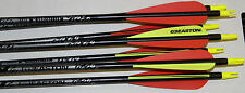 Easton XX75 GameGetter  400 Spine Arrows with Vanes AND INSERTS!!! 6 PACK!!!!