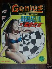 GENIUS n.21 con cartolina  Ed. Viano 1964  !!!!!!!!!