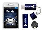 CRYPTÉ 16 GB Clé USB avec 256 BIT militaire sécurité pour Pc et Mac