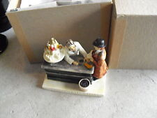 Vintage 1949 Sebastian Miniature Figurine - Corner Drug Store Signed in Box