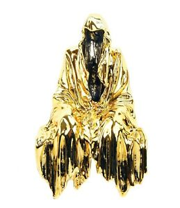 Limited Bronze Shelf Sitter - Ghost - Golden Shelf Sitter - Gold Sculpture - Art