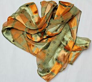 Hübsches elegantes glänzendes Tuch/Schal 128 x 33 cm