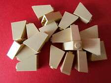 LEGO Star Wars 20 Slanted Tiles Building Bricks/Roof in Beige 2x1x2 nubs new