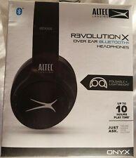 """NEW"" Altec Lansing R3volution X Bluetooth Bluetooth Headphones Headset Black"