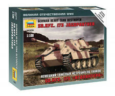 Zvezda 1/100 German Jagdpanther Sd.Kfz. 173 Tank Destroyer Z6183