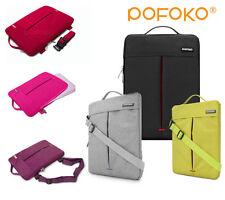 """Brief Laptop Case Ipad Notebook Messenger Bag Shoulder + Strap Fit 10"""" to 17.3"""""""