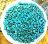 100g NATURAL TUMBLED TURQUOISE STONE WHOLESALE ALTAR OFFERING RIKI HEALING =