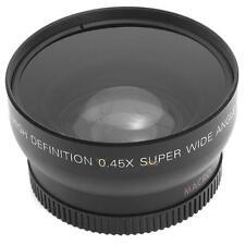 Angle 52MM 0.45x Fisheye Macro pour Nikon D3200 D3100 D5200 D5100 E0Xc