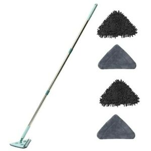 Dirt CHOMP 5 minute clean wall floor window cleaning mop with long handle