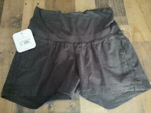 Ingrid & Isabel Maternity Black Panel Shorts Size XS New with Tag