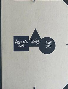 Lucio Del Pezzo cartella 5 serigrafie  Ostermalm Suite  1972 65x50 numerata