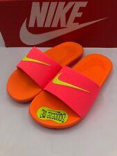 Nike Kawa Slide Youth 1Y Hot Pink Orange 819352 601 New in Box!