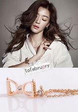 Korean Drama My Love From The Star Jun Ji Hyun Bow Necklace