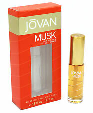 *JOVAN MUSK PERFUME OIL* For Women with Applicator .33 oz / 9.7 ml New in box