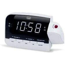 Trevi RC 858 PJ Radiosveglia con proiezione orario Radio AM/FM colore Bianco