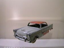 DINKY TOYS F 24D PLYMOUTH BELVEDERE GREY BODY-RED ROOF/SIDE FLASH 1957 1:43