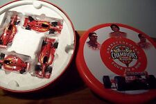 1/43 ACTION CART CHAMPIONS 4 YEARS IN A ROW 96 VASSER 1997/98 ZANARDI 99 MONTOYA