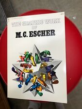 The Graphic Work of M.C. Escher Ballantine Book Softcover 1973