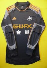 4/5 SWANSEA CITY (The Swans) ADIDAS FOOTBALL SOCCER JERSEY SHIRT FORMOTION