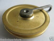 BRASS LONGCASE / GRANDFATHER GUT PULLEY / 44mm - NEW CLOCK PARTS