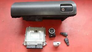 Schloßsatz Motorsteuergerät Zündschloß Fernbedienung Mercedes W164 280 320 CDI