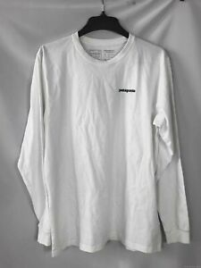 Patagonia White Flying Fish Long Sleeve Shirt - Size Large New With Tags Men's
