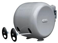 Minky 30m double bobine rétractable extérieure sèche-linge Lavage Ligne Moulinet 2x15m