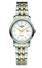 BNIB LADIES ROAMER CLASSIC LINE WATCH SWISS QUARTZ GOLD PLATED