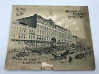 1891 Wechsler & Abraham Trade Catalog Brooklyn New York City