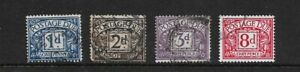 GB POSTAGE DUE - Small Selection in Nice Condition..