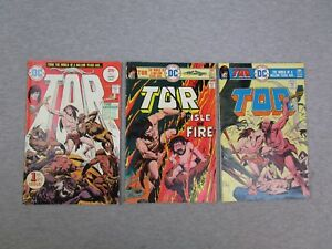 DC TOR 1 3 5 Comic Book 1975 1st Issue Lot