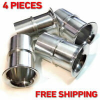 4x Velocity Stacks air horn ram pipes trumpet WEBER 40 DCOE